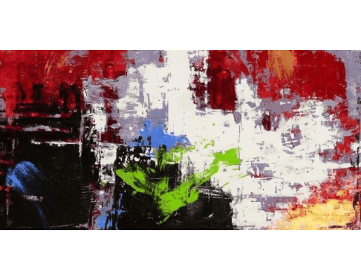 Clash | Abstract Painting