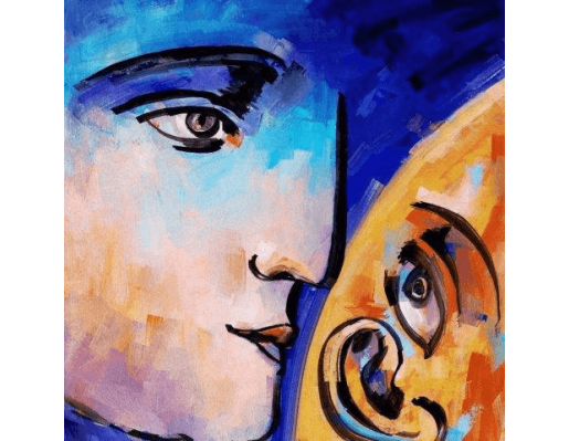 Lend An Ear | Abstract Painting
