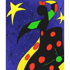 Polka Dot Dancer | Abstract Painting