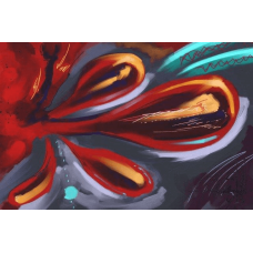 Roller Coaster | Abstract Painting