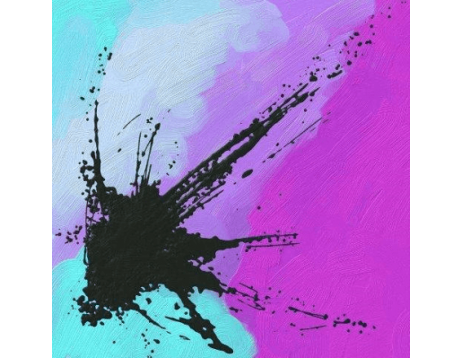 Wind of Smiles | Abstract Painting