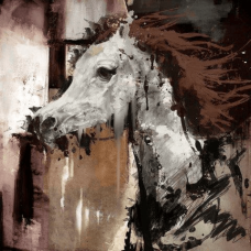 Saddle Up | Abstract Painting