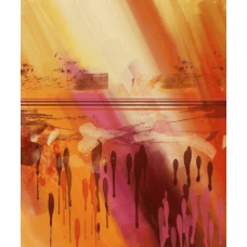 Thicker Than Water | Abstract Painting